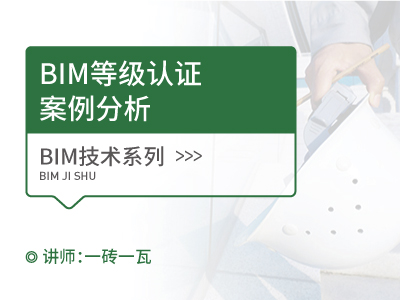 BIM等级认证之案例分析