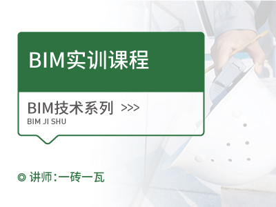 BIM实训课程【8课60讲】