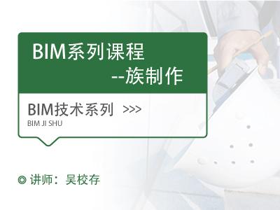 BIM系列课程-族制作(持续更新)